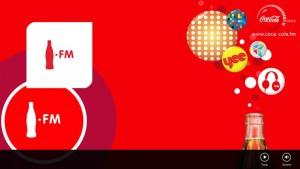 Aplicativo Rádio  Coca-Cola FM Para Smartphone