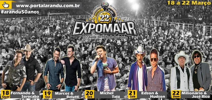 Expomar Arandu 2015 – Comprar Ingressos Online