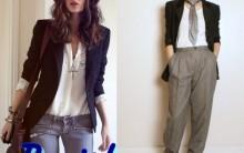 Estilo Boysh Feminino Nova Tendência de Moda 2015 – Ver Modelos