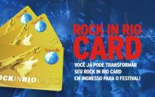 Rock in Rio Card 2015 – Como Trocar Card Por Ingressos