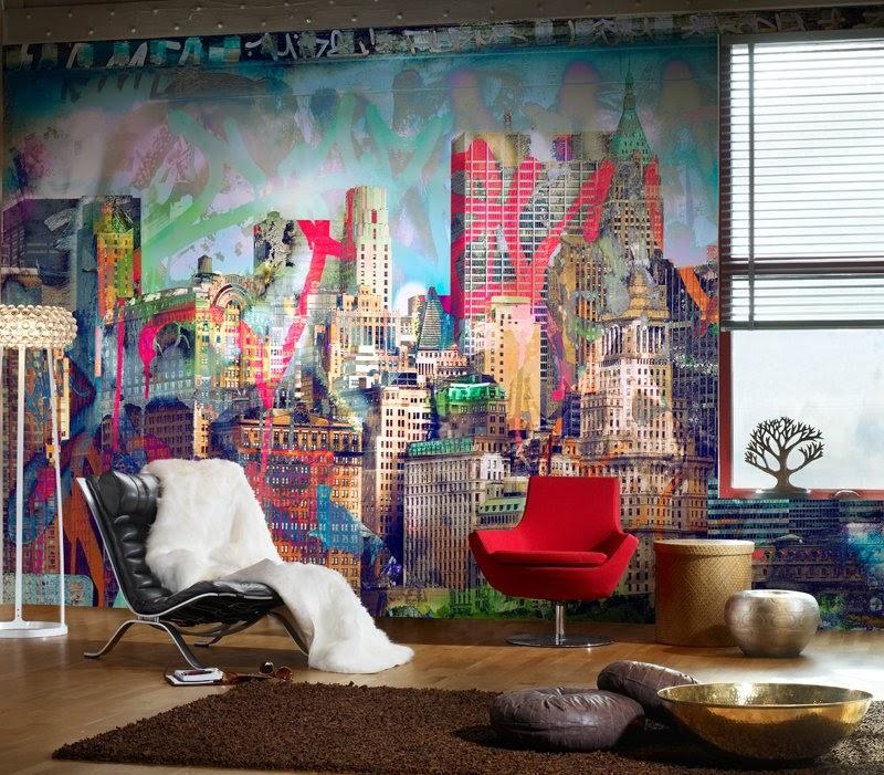 Grafite na Decoração da Casa Tendências 2015 – Ver Fotos