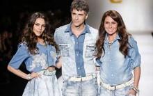 Tendências em Roupas Jeans Outono-Inverno 2015 – Ver Fotos