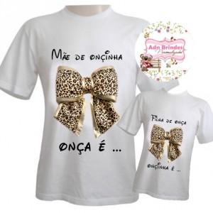 Camisetas Personalizadas Dia das Mães