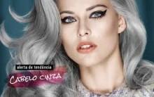 Cabelos Cinza Nova Tendência de Moda Feminina 2015 – Ver Modelos