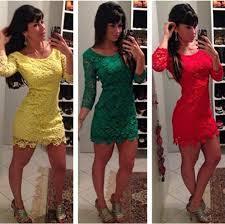Vestidos de Renda Guipir