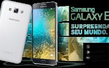 Novo Smartphone Samsung Galaxy E 2015 – Qual o Preço e Onde Comprar