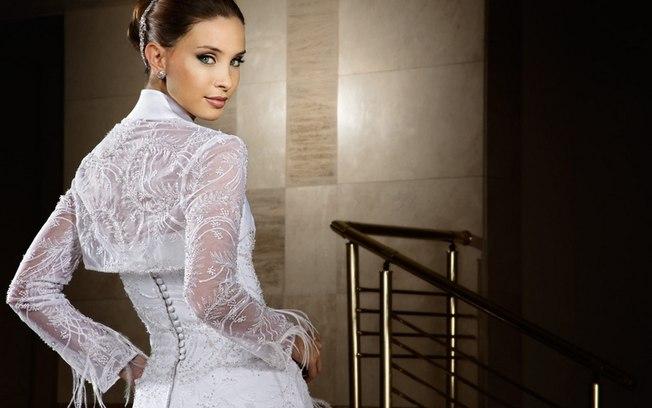 Vestidos de Noivas com Bolero Tendências 2015 – Modelos e Onde Comprar