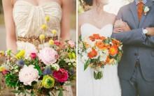 Tendências em Flores Para Buquês de Noivas 2015 – Modelos