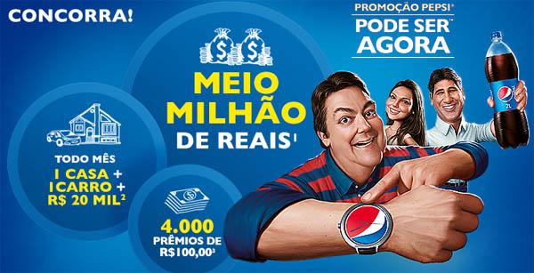 Promoção Pepsi Pode Ser Agora 2015 – Como Participar