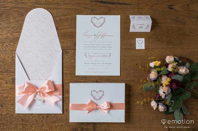 Tendências em Convites de Casamentos 2015 – Modelos