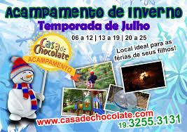 Colônia de Férias Casa de Chocolate SP 2015 – Inscrição