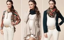 Moda Inverno Para  Mulheres Grávidas  2015 –  Tendência