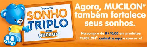 Promoção Mucilon Sonho Triplo  2015 –-