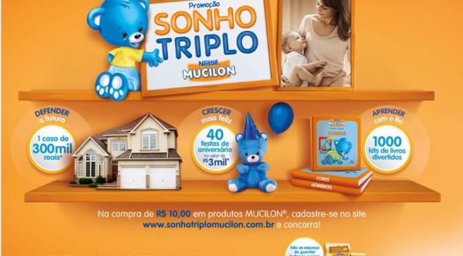 Promoção Mucilon Sonho Triplo  2015