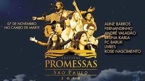 Festival Promessas São Paulo  2015 – Ingressos e Atrações