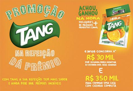 Promoção Tang na Refeição dá Prêmio 2015 – Inscrição