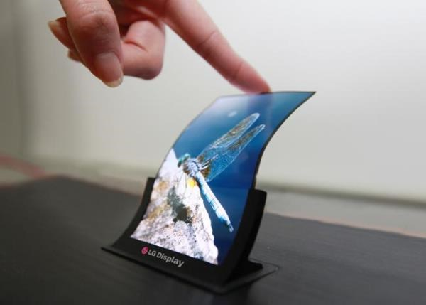 LG Lança Tela Flexível de 18 Polegadas 2016