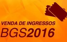 Brasil Game Show  2016 – Ingressos