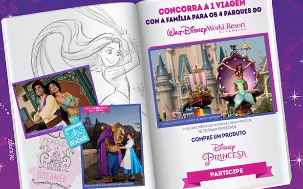 Promoção História de Princesa Disney 2016