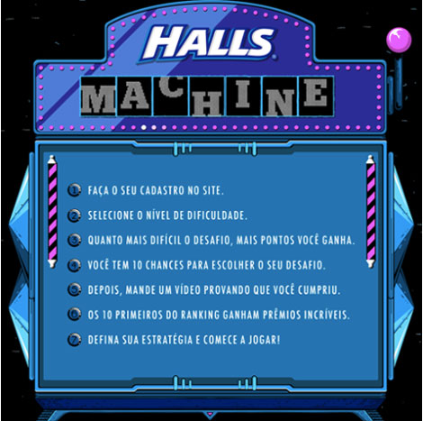 Promoção Halls Machin