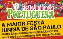 Festa Junina  da Portuguesa  2016 –  Programação e Preços