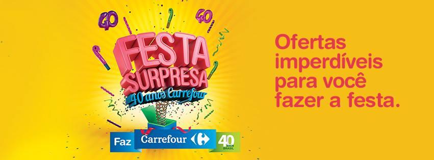 Promoção Aniversário Carrefour -
