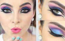 Maquiagem Colorida Tendência 2017 – Como   Fazer