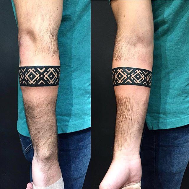 Tatuagem de Bracelete Tendência 2017