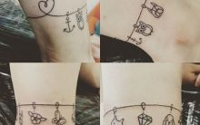Tatuagem de Bracelete Tendência 2017 – Fotos