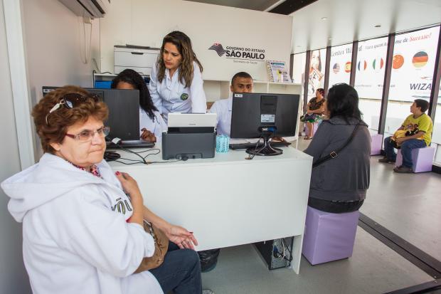 Carretas da Mamografia Gratuita em São Paulo 2016