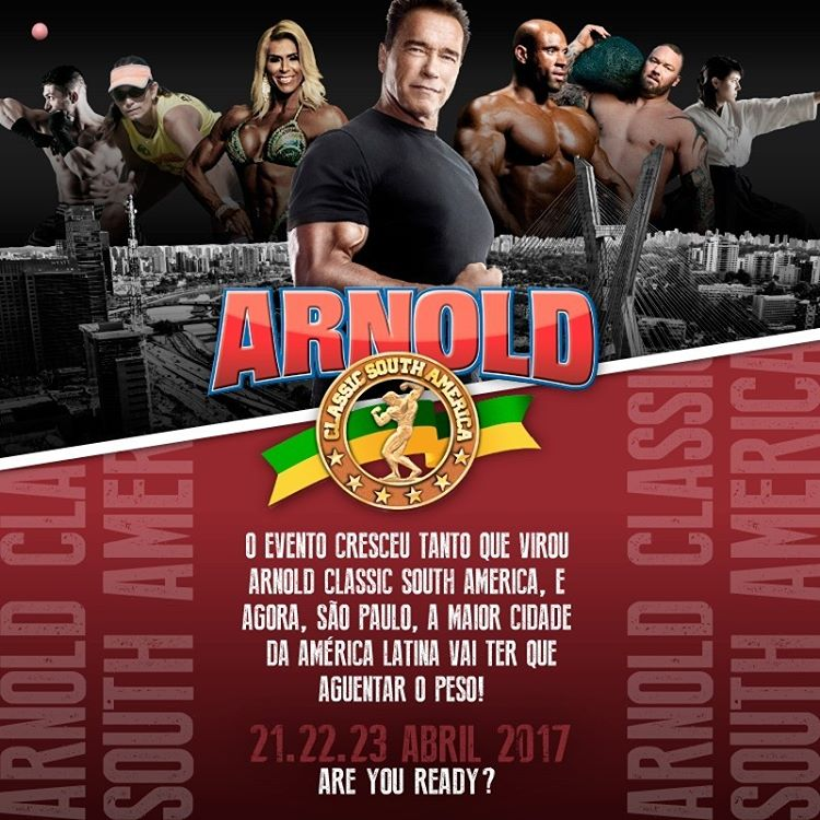 Arnold Classic South América 2017 – Comprar Ingressos
