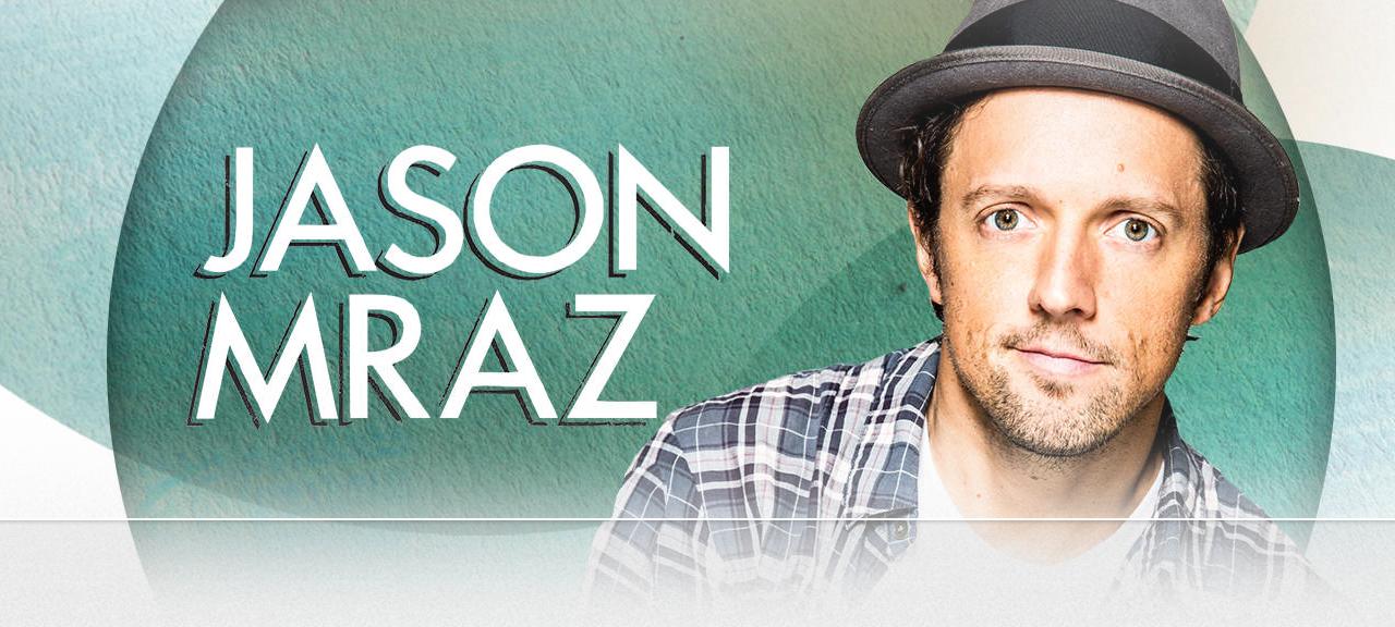 Show do Cantor  Jason Mraz no Brasil