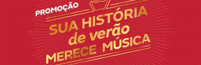 """Promoção """"Sua História De Verão Merece Música"""" 2017 – Como Participar"""