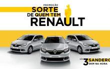 Promoção Sorte de Quem Tem Renault 2017 –  Como Participar