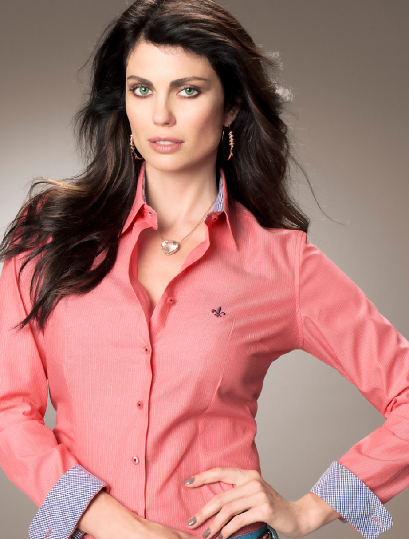 be5155a7be5 Dudalina Camisas Femininas – Fotos dos Modelos e Onde Comprar
