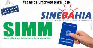 Vagas de Emprego no SIMM Bahia 2017
