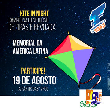 Campeonato Noturno de Pipas em São Paulo 2017 – Programação e Local