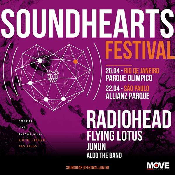 Soundhearts Festival 2018 – Principais Atrações e Comprar Ingressos