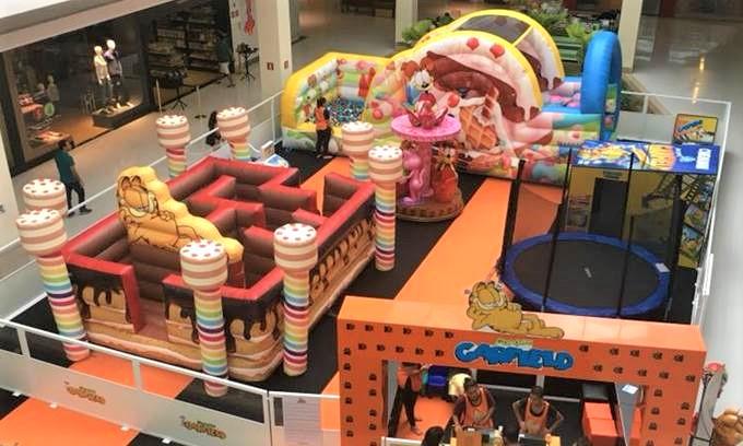 Parque Garfield no Tietê Plaza Shopping 2018 – Local, Horários e Como Funciona