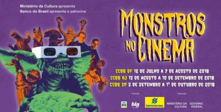Monstros no Cinema no CCBB 2018 – Local, Horários e Programação