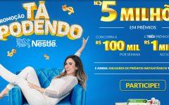 Promoção Tá Podendo Nestlé 2018 – Prêmios e Como Participar
