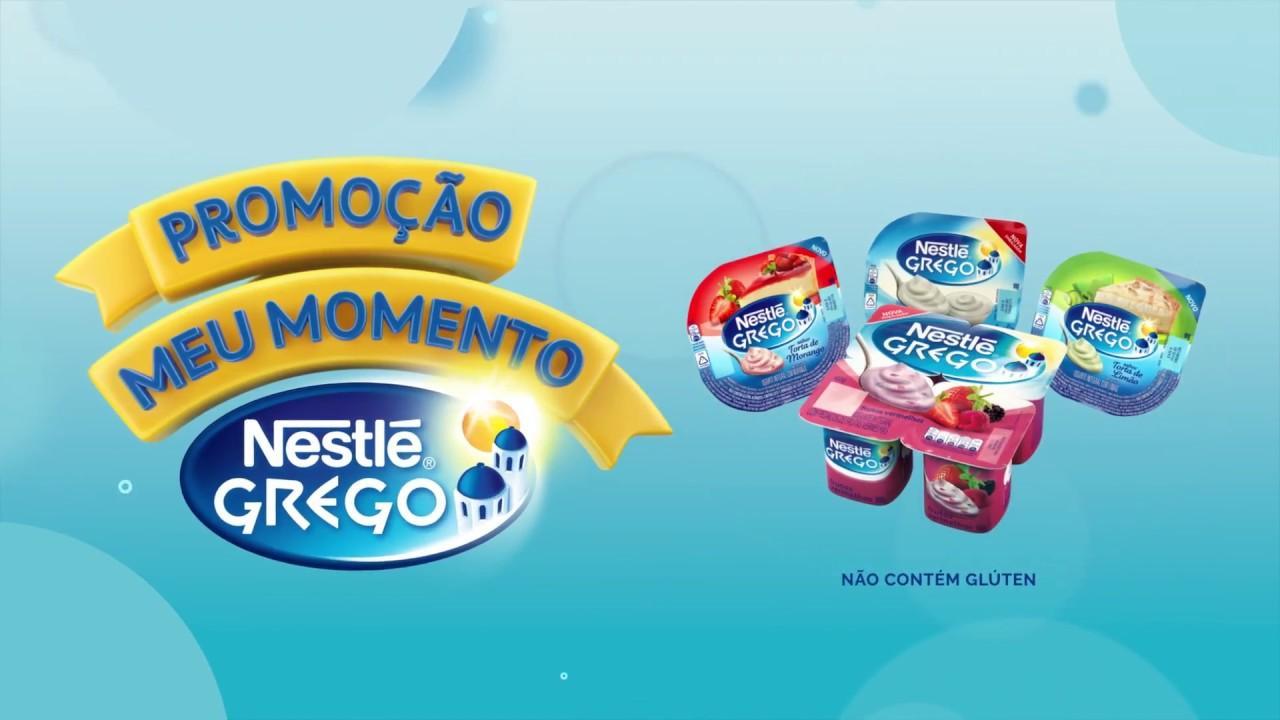 Promoção Meu Momento Nestlé Grego 2018 – Prêmios e Como Participar